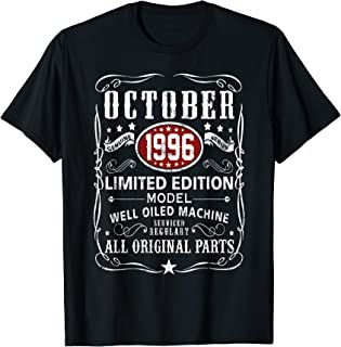 Legends Were Born In October  1996 T-Shirt 23rd Bay Gifts T-Shirt