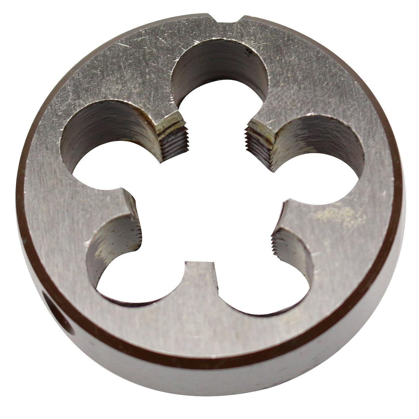 22mm X 0.75 Metric Right Hand Round Die, Machine Thread Die M22 X 0.75mm Pitch