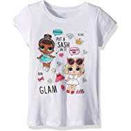 L.O.L. Surprise! Girls' Glam Club Miss Baby & Leading Baby Short Sleeve T-Shirt