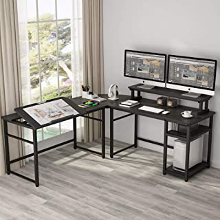 Best corner computer desk espresso Reviews