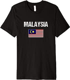 Malaysian Pride Heritage Malaysia Flag Premium T-Shirt