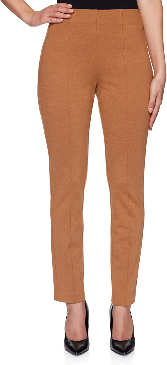 Ruby Rd.Women's Plus-Size Extra Stretch Pull-On Colored Denim Pant