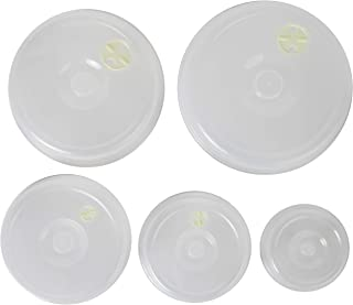 Ventilated Nesting Microwave Covers - Set of 5