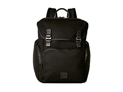 KNOMO London Fulham Thurloe Backpack (Black) Backpack Bags