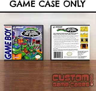 Gameboy Teenage Mutant Ninja Turtles II: Back from the Sewers - Case