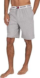 de los Hombres Pantalones Cortos de Logo Pijama, Gris, M