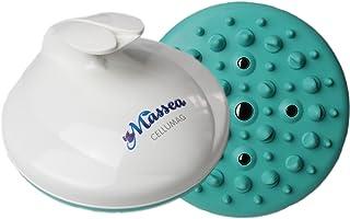 CelluMag - Cepillo para masaje anticelulítico con imanes contra la piel de naranjaPara una piel tersa, masajes, bienestar y belleza (Turquesa)