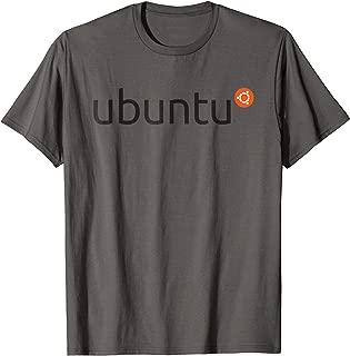 Ubuntu Official Logo Linux Operating System T-Shirt