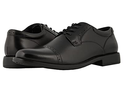 Nunn Bush Nantucket Waterproof Cap Toe Oxford (Black WP) Men