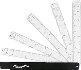 GRAPHOPLEX Règle réduction éventail 10 échelles
