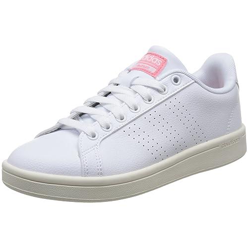 adidas Damen Cloudfoam Advantage Clean Sneaker 243d22ce73