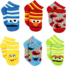 Sesame Street Boys Multi pack Socks (Toddler/Little Kid/Big Kid)