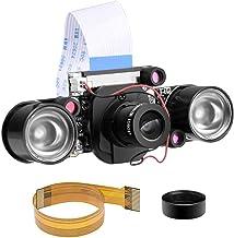 for Raspberry pi Camera Day & Night Vision, IR-Cut Video Camera 1080p HD Webcam 5MP OV5647 Sensor for Raspberry Pi RPi 4 3...