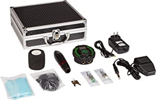 Dragonhawk Mast Pen Rotary Tattoo Machine Power Supply Mast Evo Cartridges Foot Pedal Gift Box 1013-10