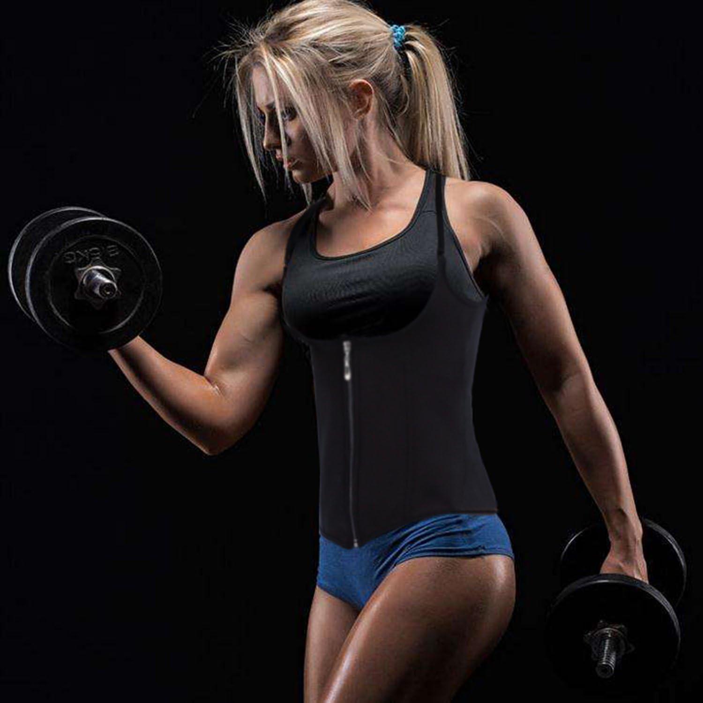 Waist Trainer Corset Tummy Control Shapewear Vest Adjustable Straps Body Slimmer