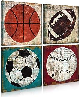 Toddler Room Sports Fan Boy Room Decor Sports Balls Sports Wall Art Sports Nursery Boy Rules Baby Gift Navy Blue Sports Decor