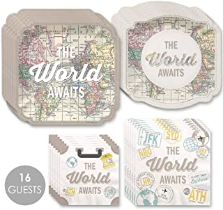 Best bon voyage plates and napkins Reviews
