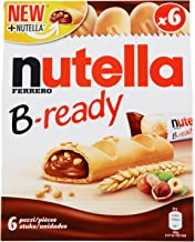 Nutella B-Ready Wafer, 6 X 22 g