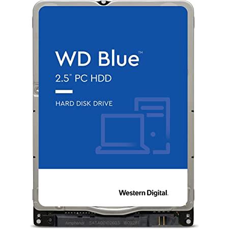 "Western Digital 1TB WD Blue Mobile Hard Drive HDD - 5400 RPM, SATA 6 Gb/s, 128 MB Cache, 2.5"" - WD10SPZX"
