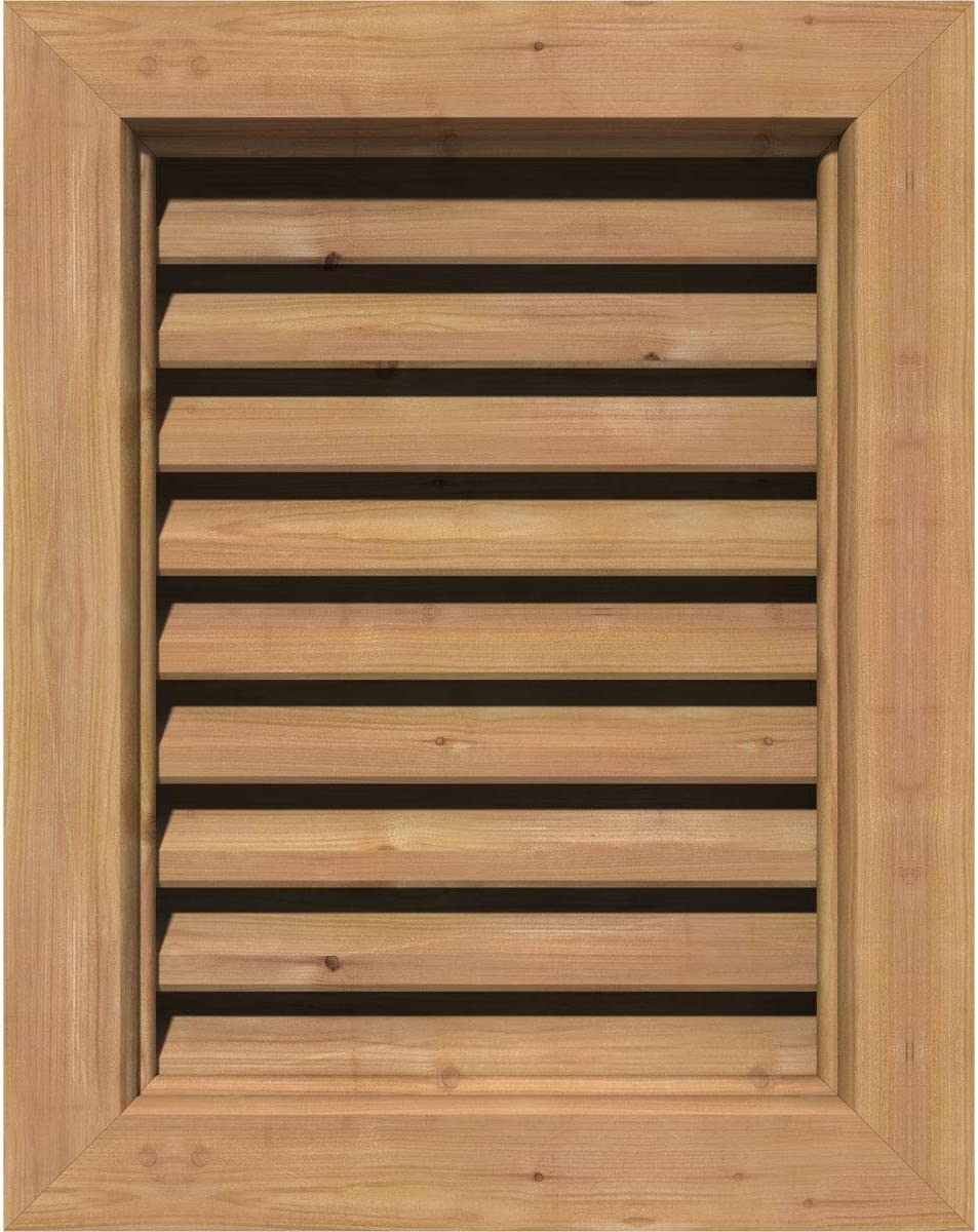 Max 60% Free shipping anywhere in the nation OFF EKENA MILLWORK GVWVE32X1600SFUWR Vertical Gable Vent x 37