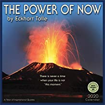 The Power of Now 2020 Wall Calendar: A Year of Inspirational Quotes