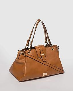 Tan Clementine Tote Bag