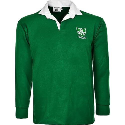 6b9a23dda01 Activewear IRELAND IRISH RUGBY IRELAND FULL SLEEVE SUPPORTER SHIRTS SIZE S  TO 3XL