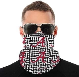 Alabama Logo Face Mask Bandana Neck Gaiter Tube Headwear Bandana, Seamless Rave Face Mask Scarf