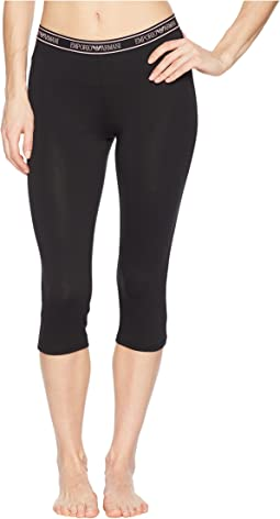 Iconic Logoband Short Leggings