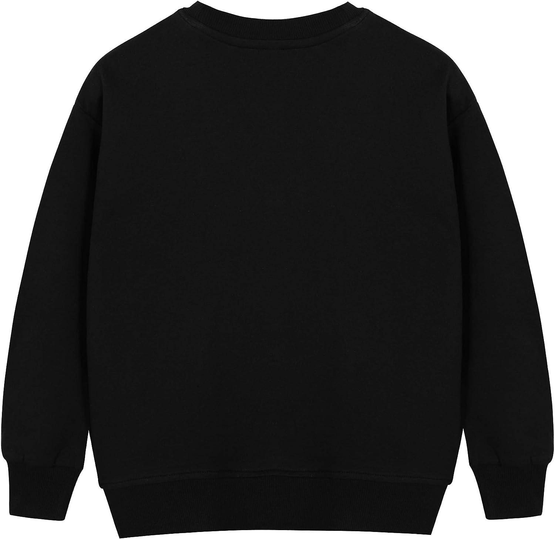 BONNY BILLY Sudadera Ni/ña Manga Larga Camiseta Top Estampado Algod/ón Oto/ño Invierno Ropa Ni/ña