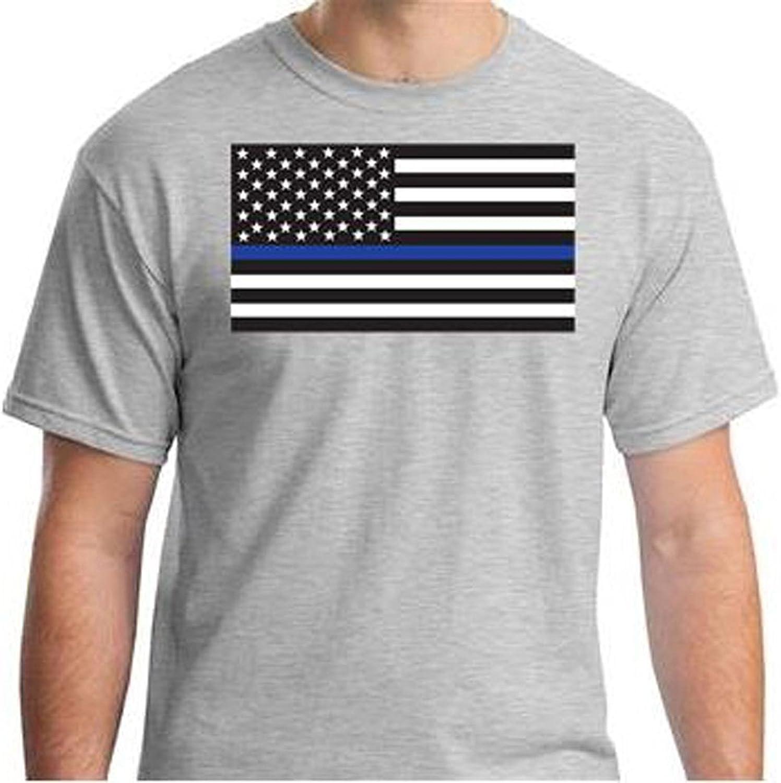 c6003386d Armed Forces Depot Thin blueee Line Tshirt Tshirt Tshirt Flag Tshirt.  Sports Grey ae50fc