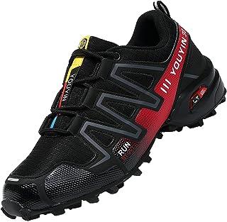 Csgkag Zapatillas Trekking Hombre Zapatos de Senderismo Zapatillas Trail Running Escalada Aire Libre Antideslizantes Liger...