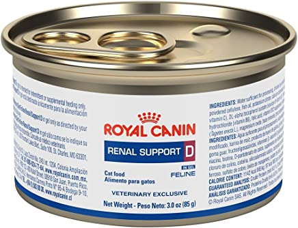 Royal Canin Renal Support D MIG Can Cat Food (24/3oz cans)