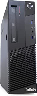 Lenovo ThinkCentre M93p Business Class Desktop, Quad Core i7 4770 3.4Ghz, 16GB DDR3 RAM, 512GB SSD Hard Drive, DVD-RW, Win...