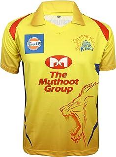 KD Cricket IPL Jersey Supporter Jersey T-Shirt 2020/21 MI, CSK, RCB,KKR,RR,KXIP,SRH and DC