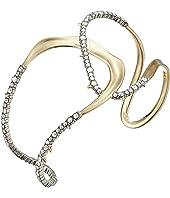 Alexis Bittar - Crystal Encrusted Freeform Cuff Bracelet