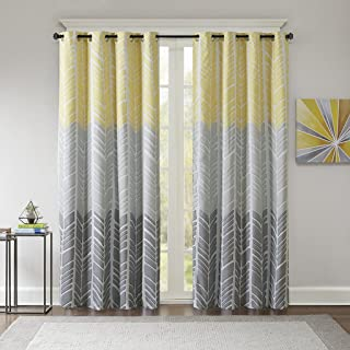 Best yellow grey and white curtains Reviews
