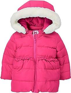 Gymboree 女童带人造皮连帽饰边夹克