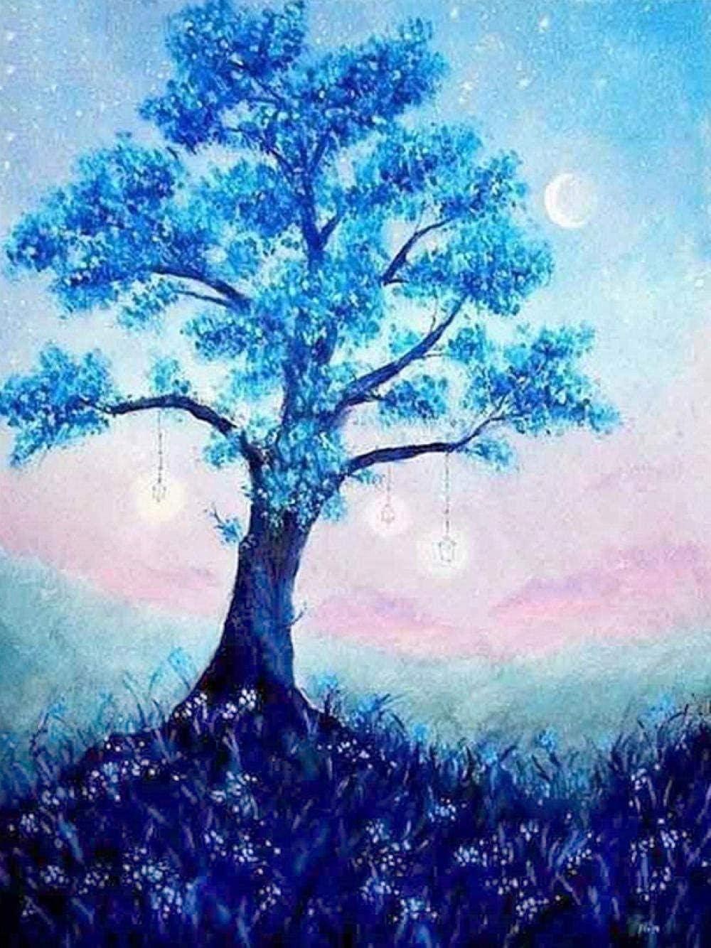 TYXKH Counted Cross Stitch DIY Kit Fantasy Trust Tree Sale SALE% OFF