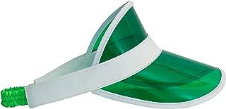 Loftus Las Vegas Dealer Visor Double Bill Costume Hat, Green, One Size