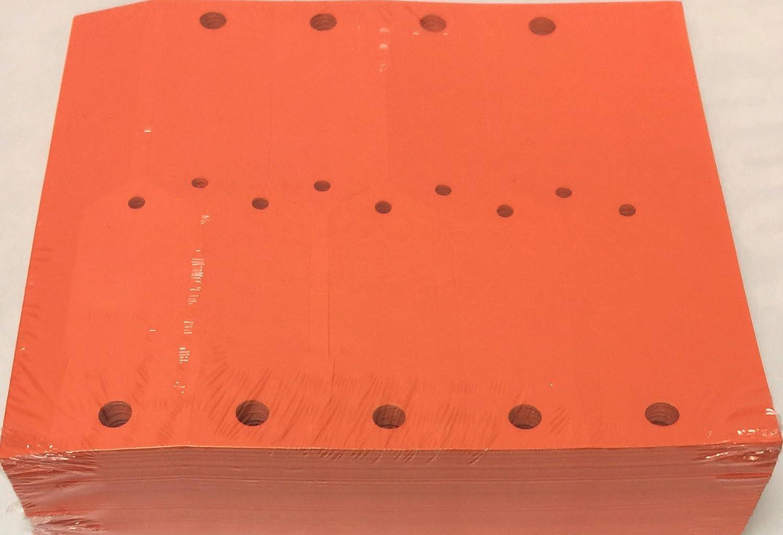 Key Tag Vinyl Arrow Self 1 year warranty Locking Blank Qty Max 90% OFF Orange A28R 1000