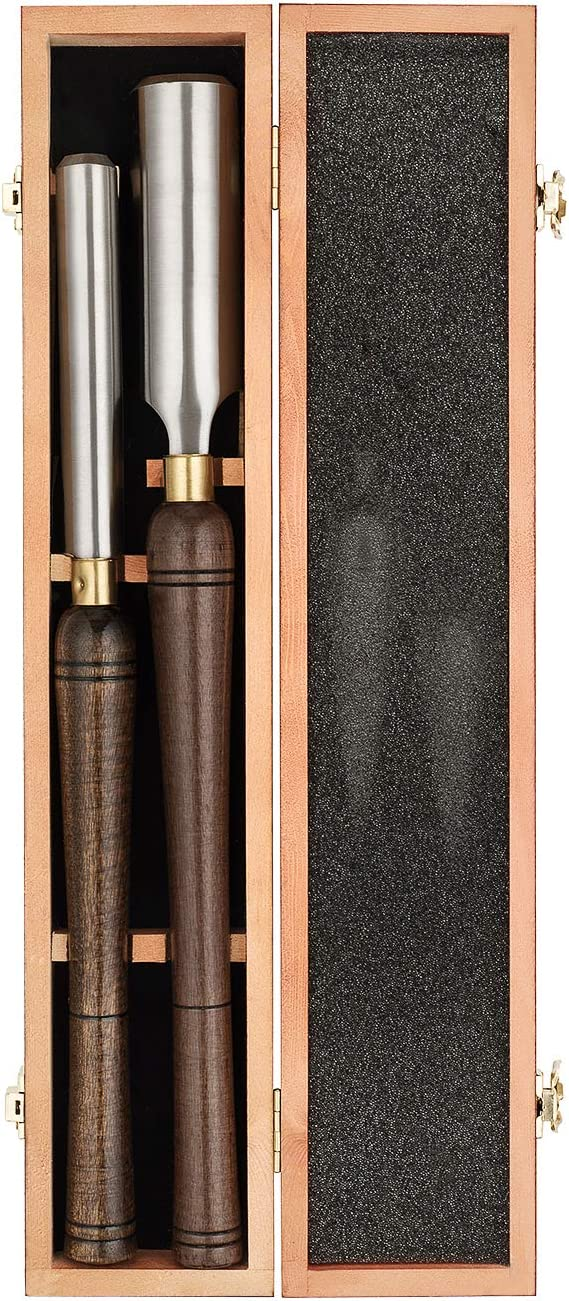Max Shipping included 64% OFF IMOTECHOM 2-Pieces HSS Roughing Gouge Chisel Turn Set Wood Lathe
