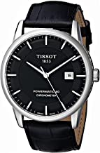 Tissot Men's T0864081605100 Luxury Analog Display Swiss Automatic Black Watch
