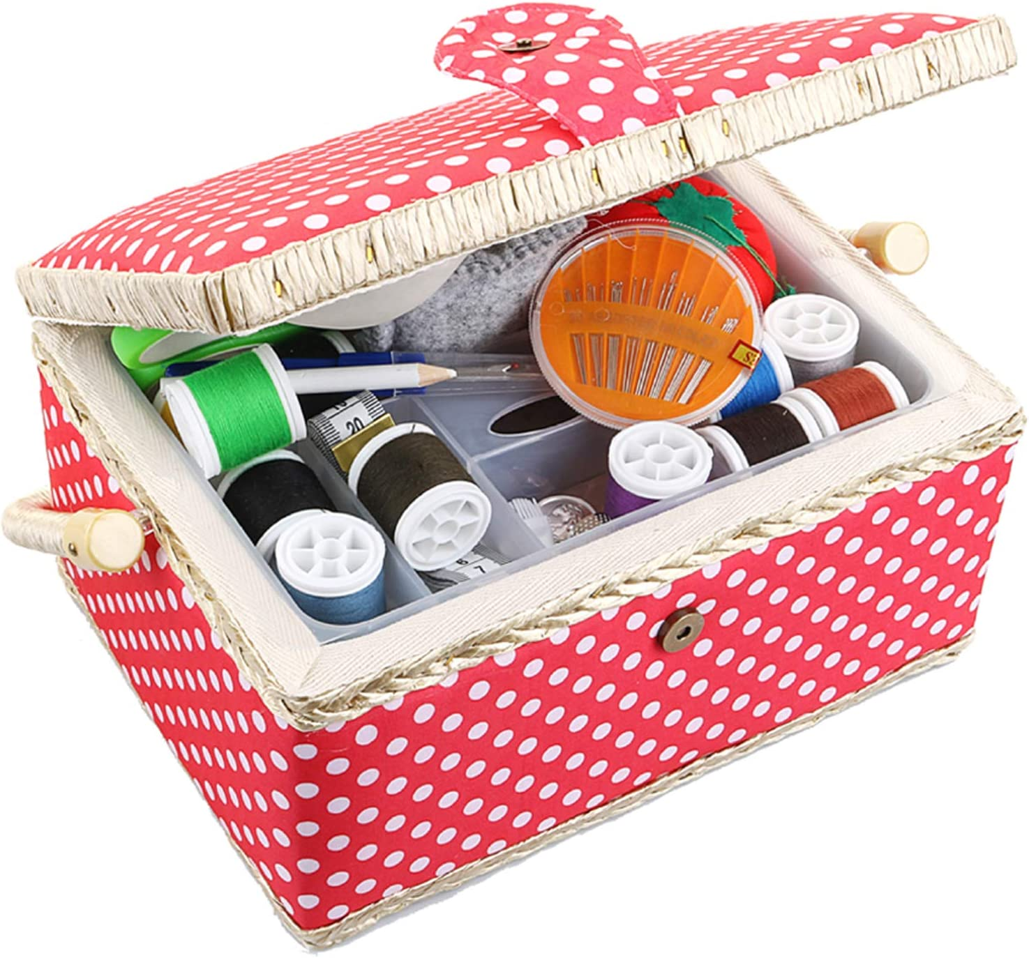 Large Sewing Box with Japan Popular overseas Maker New Accessories Kit and Storage Organiz
