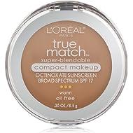 L'Oréal Paris True Match Super-Blendable Compact Makeup, W4 Natural Beige, 0.3 oz.