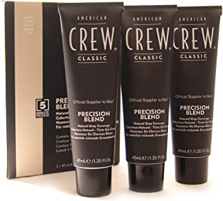 American Crew Precision Blend Lote Cream Number 7/8 Gel Set, Light - by American Crew