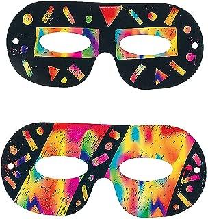 Magic Color Scratch Masks - Crafts for Kids & Magic Scratch 24 count