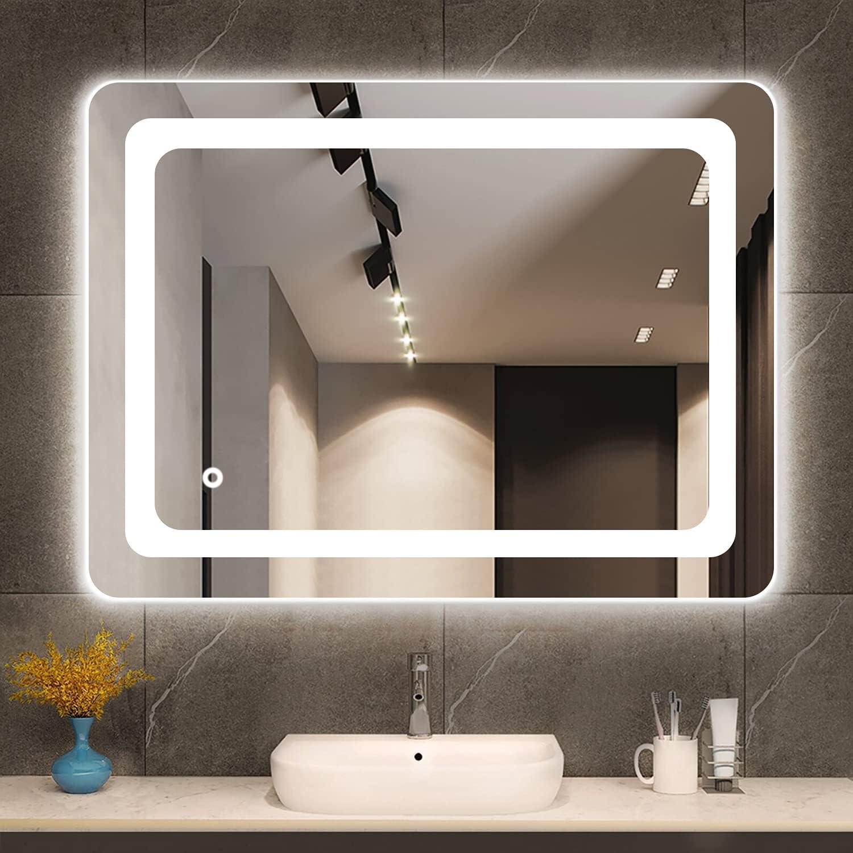 Cozy Spasm price Castle 55% OFF Bathroom Mirror with Vanit Lights Makeup LED Lighted