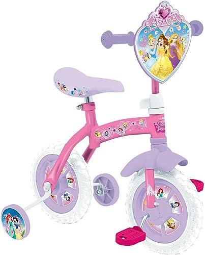 Disney Princess 10  2 In 1 Training Bike