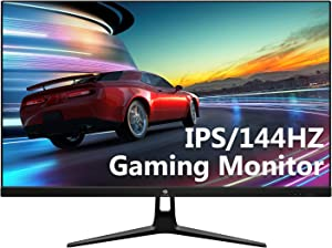 Z-Edge UG25I 25-inch IPS Gaming Monitor, Full HD 1080P 1920x1080 LED IPS Monitor, with 144Hz Refresh Rate and Eye-Care Technology, 178° Wide View Angle